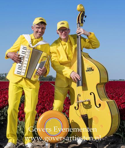 Kaas, muziekduo, Hollandse muziek, themafeest, Holland, Hollands, muzikanten duo, gezellige muziek, Govers Evenementen