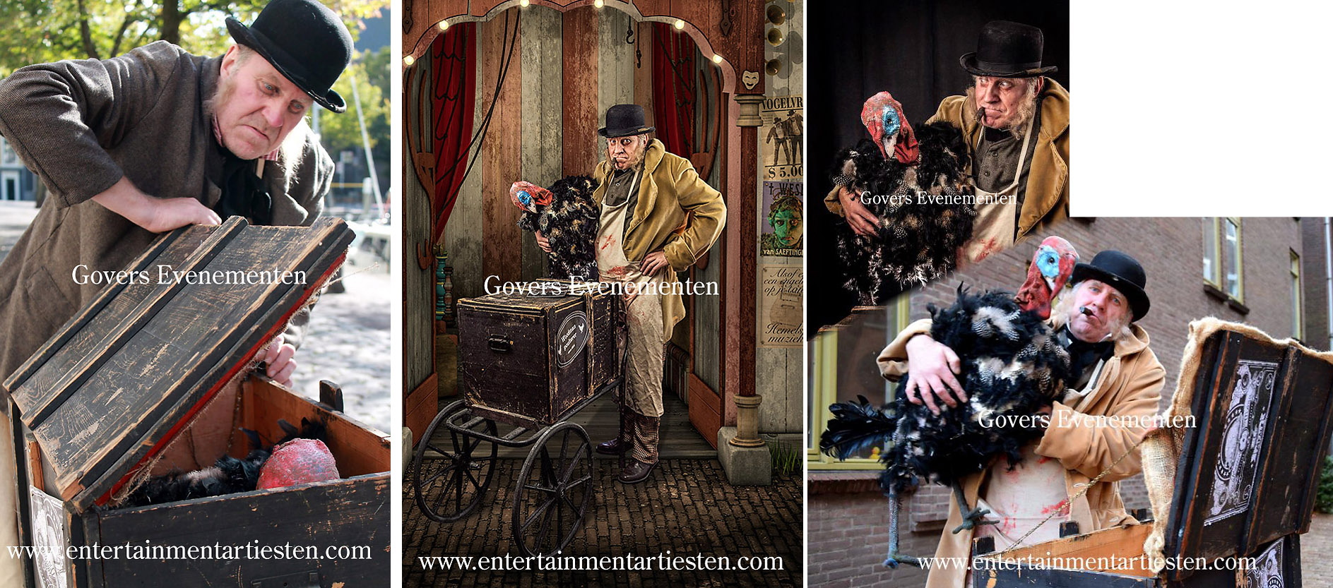 DePoelier, straattheater, kindertheater, artiest, artiesten, entertainment, festival, humor, vermaak, optreden, acteur, Govers Evenementen, www.goversartiesten.nl