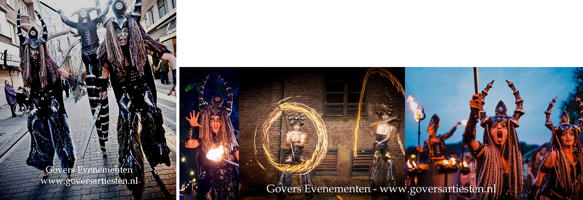 Vuurshow, vuuranimatie, vuurspuwers, themafeest, vuurvreter, vuurspuger, vuurspuwer, Govers Evenementen, www.goversartiesten.nl