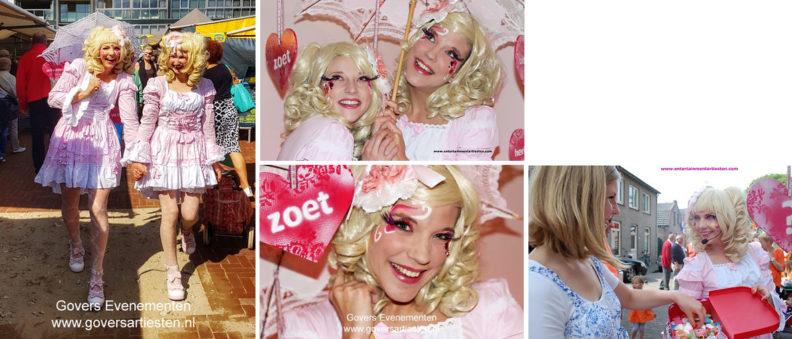 straattheater, act, meer liefde in het leven, winkelcentrum promotie, thema act, thema artiesten, artiesten boeken, www.goversartiesten.nl Govers Evenementen
