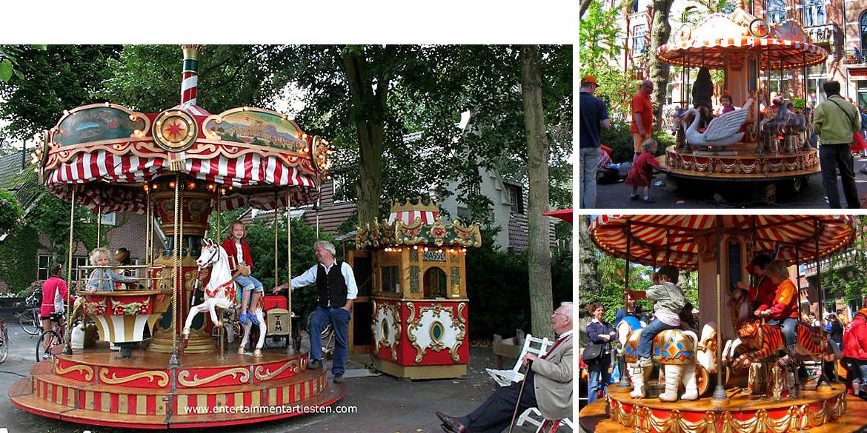 Kindercarrousel, carrousel, draaimolen, draaimolen huren, kinderdraaimolen, draaimolentje, kindervermaak, kinderentertainment, kinderfeestje organiseren, speeltuin, Govers Evenementen, www.goversartiesten.nl