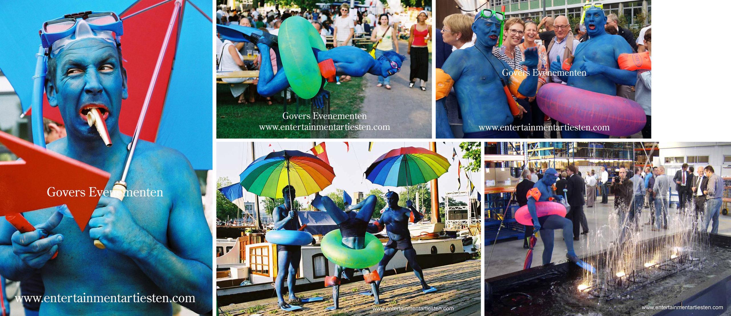Straatheater, Zeevolk, water, theater, festival, artiesten, zeehelden, havendagen, Govers Evenementen, theaterfestival, humor op straat, www.goversartiesten.nl