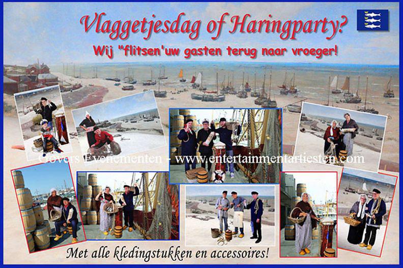 Hollandse haring party, fotografie op uw evenement of feest, Hollands entertainment, www.goversartiesten.nl