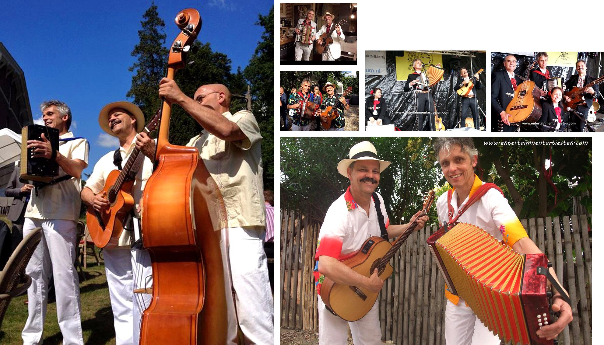 Muzikanten-Bands , heerlijke caribische muziek om op te swingen of om naar te luisteren, Govers Evenementen, www.goversartiesten.nl