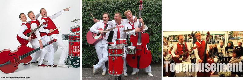 Muzikanten -bands, De Rode Lopers akoestische hits uit de muziek geschiedenis, Govers Evenementen, www.goversartiesten.nl