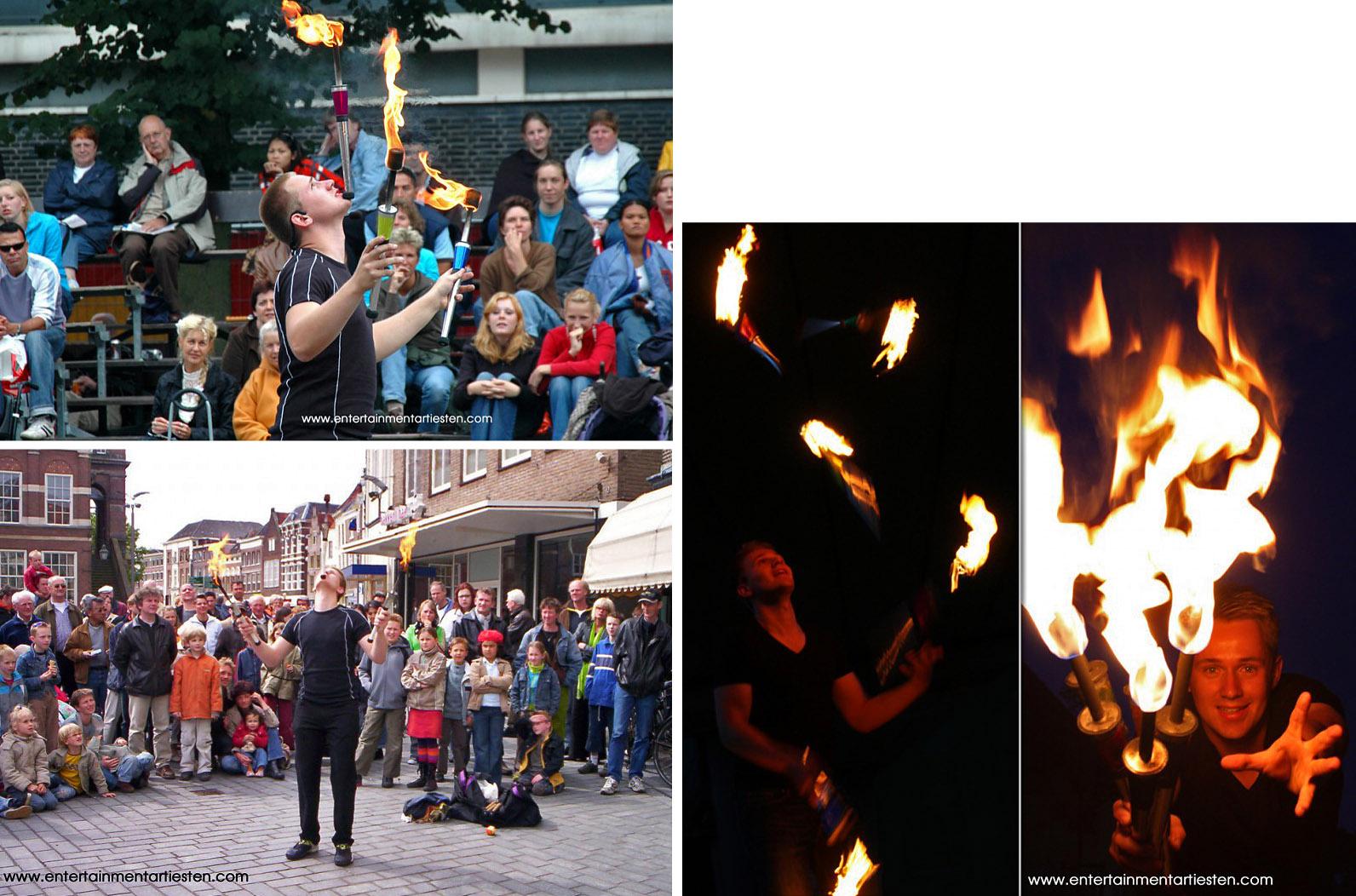 Jongleur en een van de jongste professionele artiesten in Nederland maar wel eentje met veel ervaring, jongleur boeken, vuur entertainment, straattheater, artiesten boeken, straatvoorstelling, Govers Evenementen, www.goversartiesten.nl