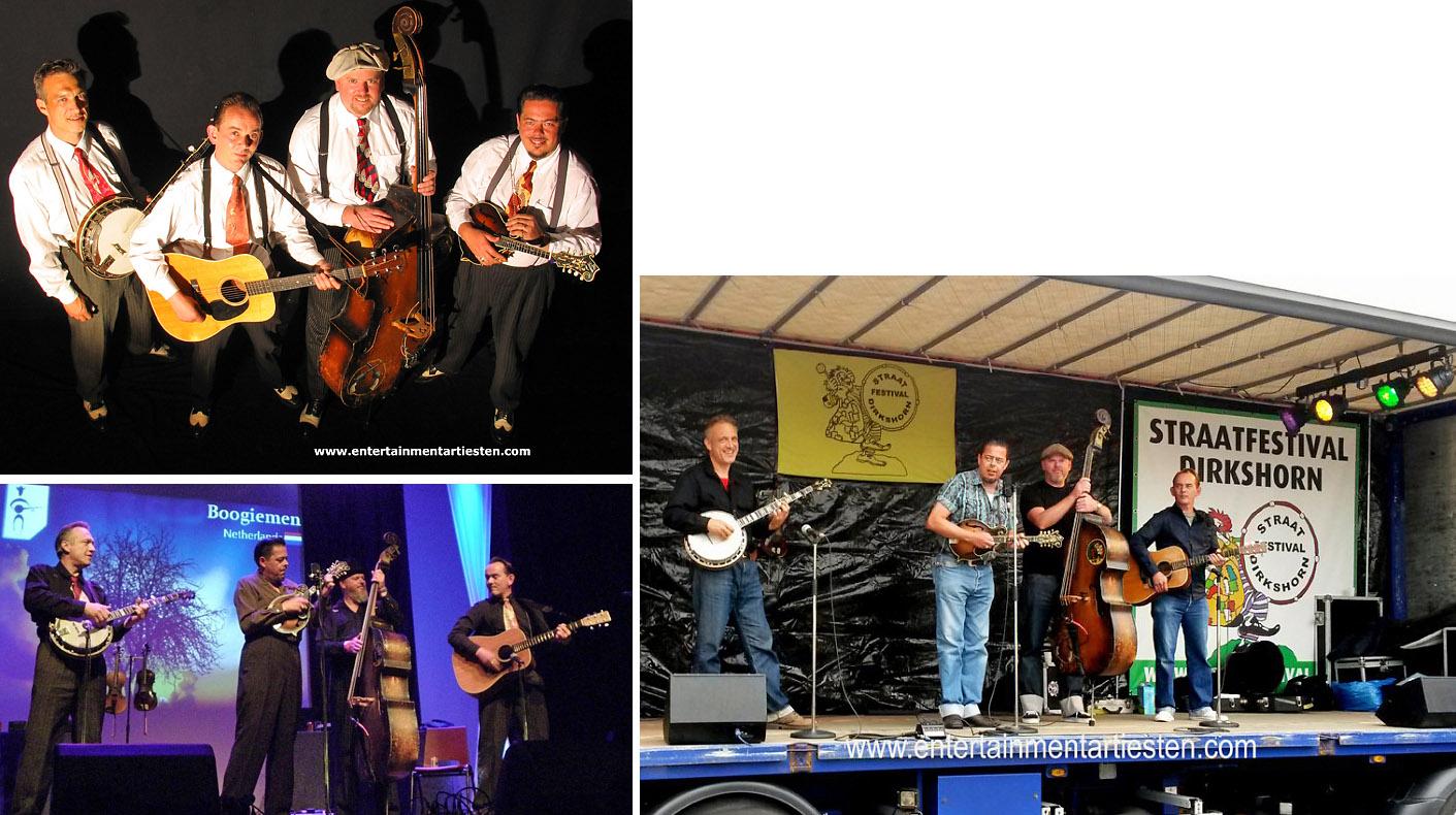 Boogiemen behoort met zijn Country en Boogie muziek tot de Muzikanten & Bands die America aanbidden, Govers Evenementen, www.goversartiesten.nl