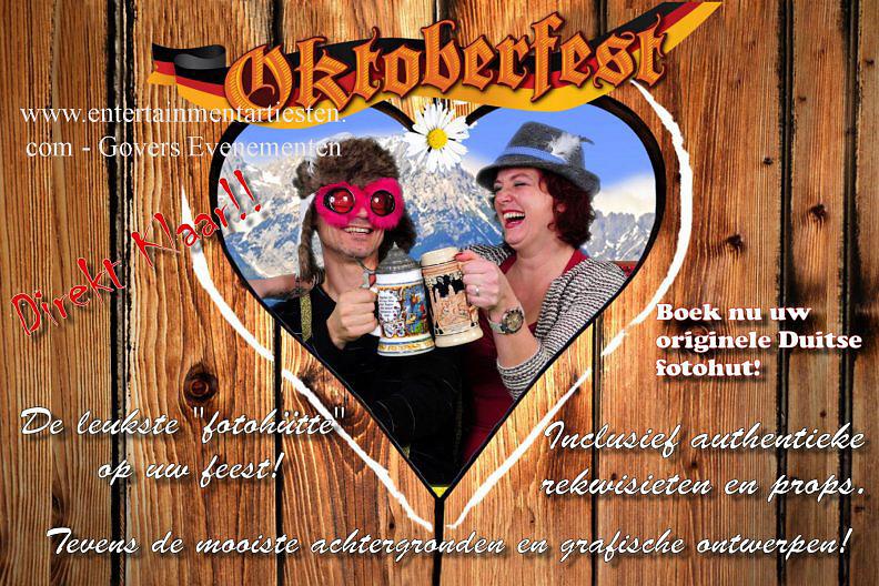 Oktoberfest, Oktoberfeesten, fotografie op uw feest, party, culinair evenement of bierfeest, artiesten boeken, artiestenbureau, thema feest, catering act, culinaire acts, beurs & promotie acts, horeca acts, Govers Evenementen, www.goversartiesten.nl