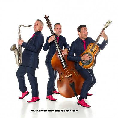 Top 40 is op elk feest een hit, muziek trio, muzikanten boeken, muziektrio inhuren, thema feest, entertainment, Govers Evenementen, www.goversartiesten.nl